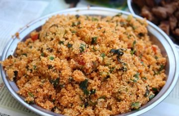 Bulgur Salat Bowl